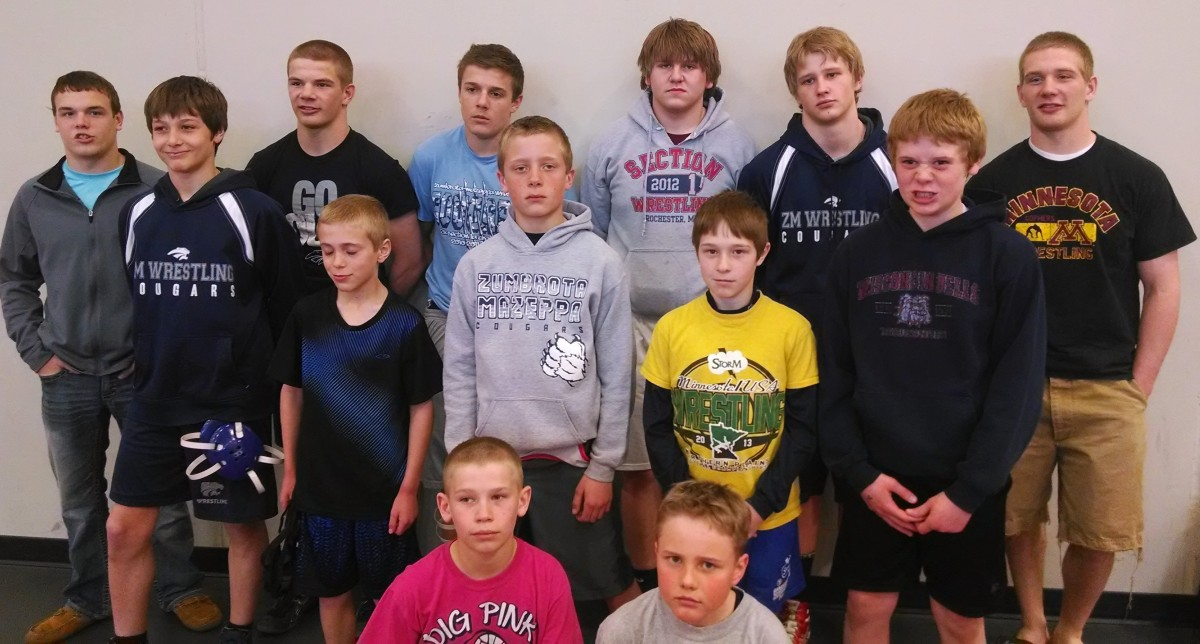 11 Wrestlers Compete in Cannon Falls